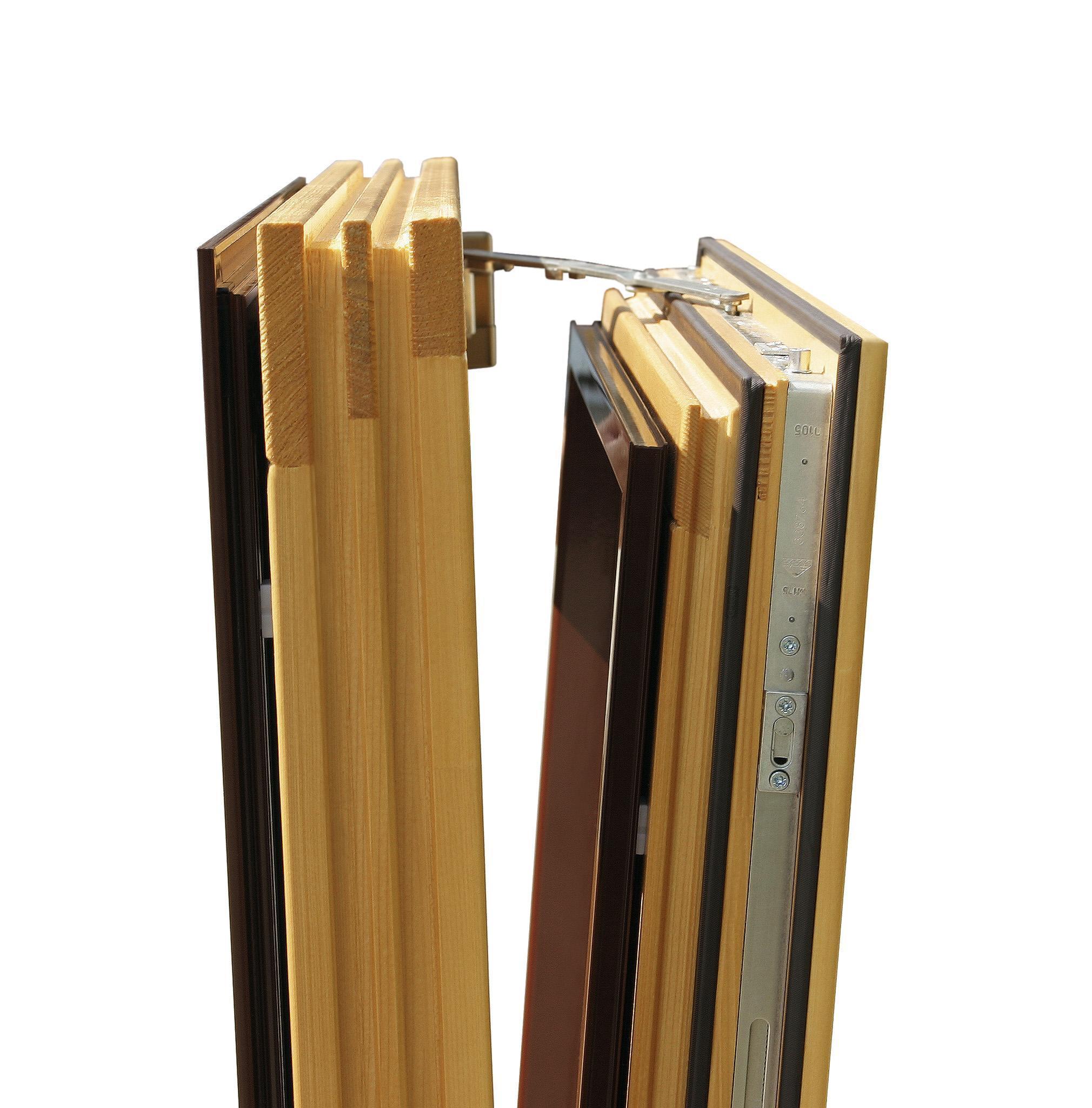 O sistema basculante é ideal para sótãos, gira 180º na horizontal ou na vertical.