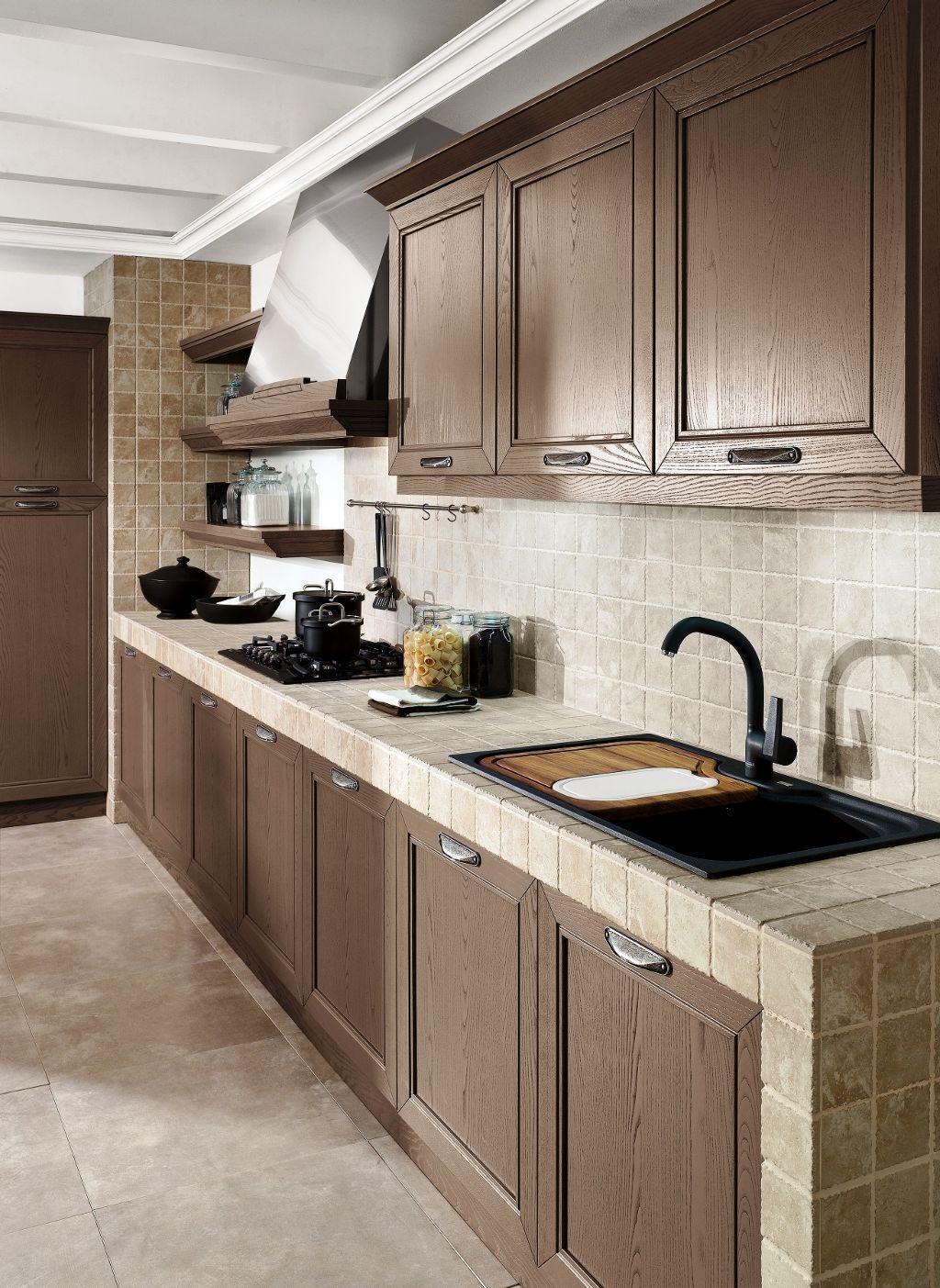 A sua cozinha pode também ser revestida com ladrilhos cerâmicos.