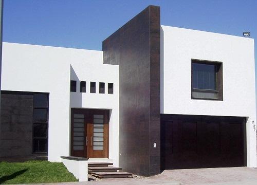 Edif cios pintura de fachadas casa viva obras for Construcciones minimalistas