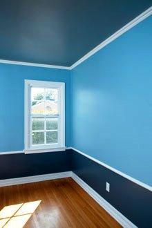 Na construção civil a pintura representa uma operação de grande importância.
