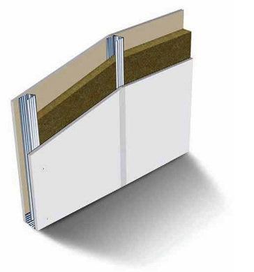 É com perfis e peças metálicas (montantes) que se cria a estrutura onde se fixa o pladur.