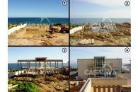 Construção da estrutura de Moradia