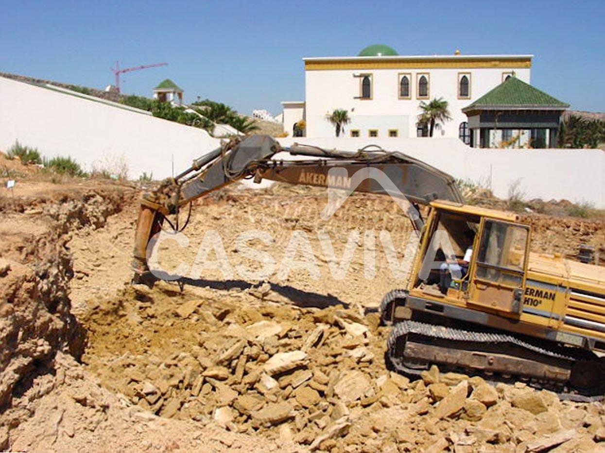 Portf lio movimenta o de terras escava es contru o - Casa viva obras ...