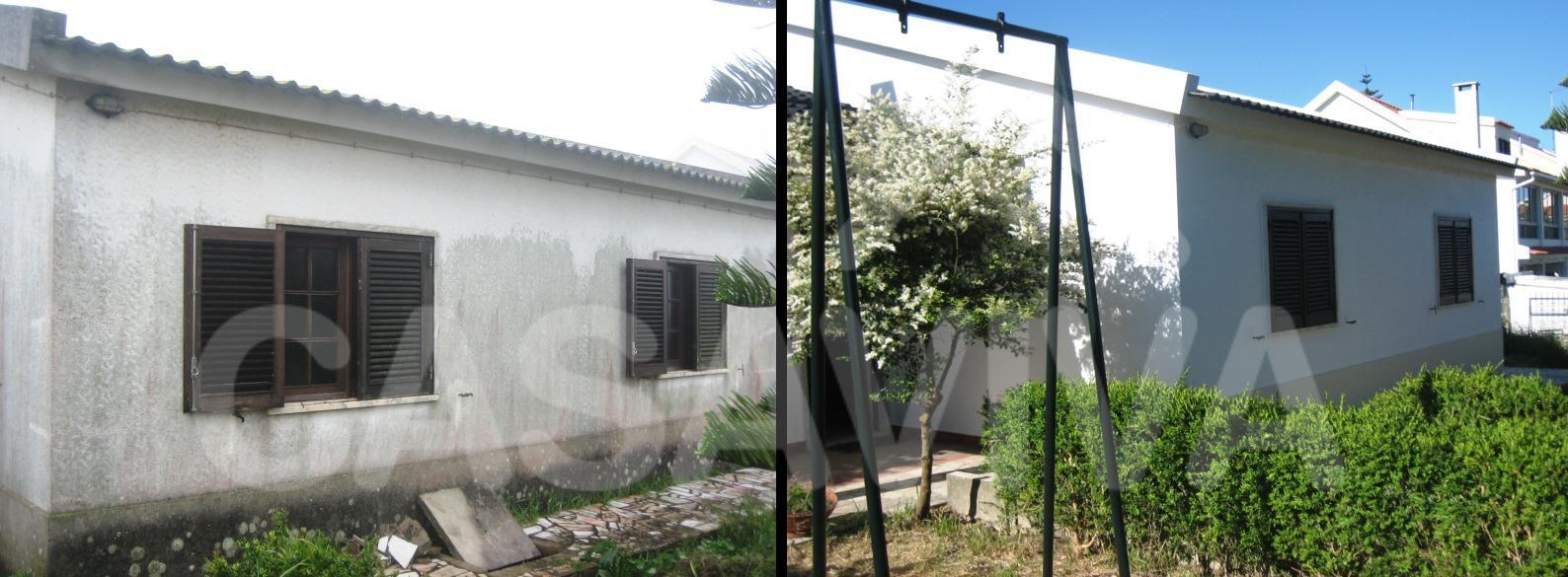 O espaço exterior melhorou bastante após o término dos trabalhos de reabilitação.