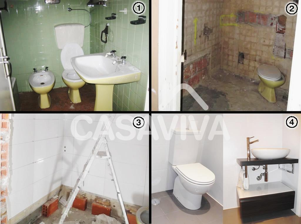 Portf lio remodela o da casa de banho antes e depois - Reformas antes y despues ...