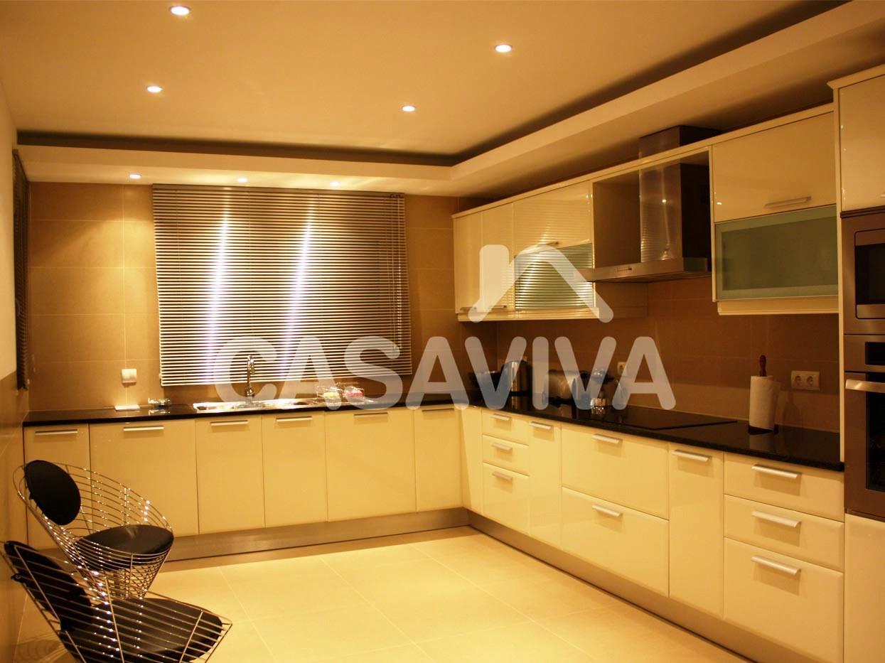 Móveis de cozinha em melamina à medida com electrodomésticos  #7C4F51 1245 933