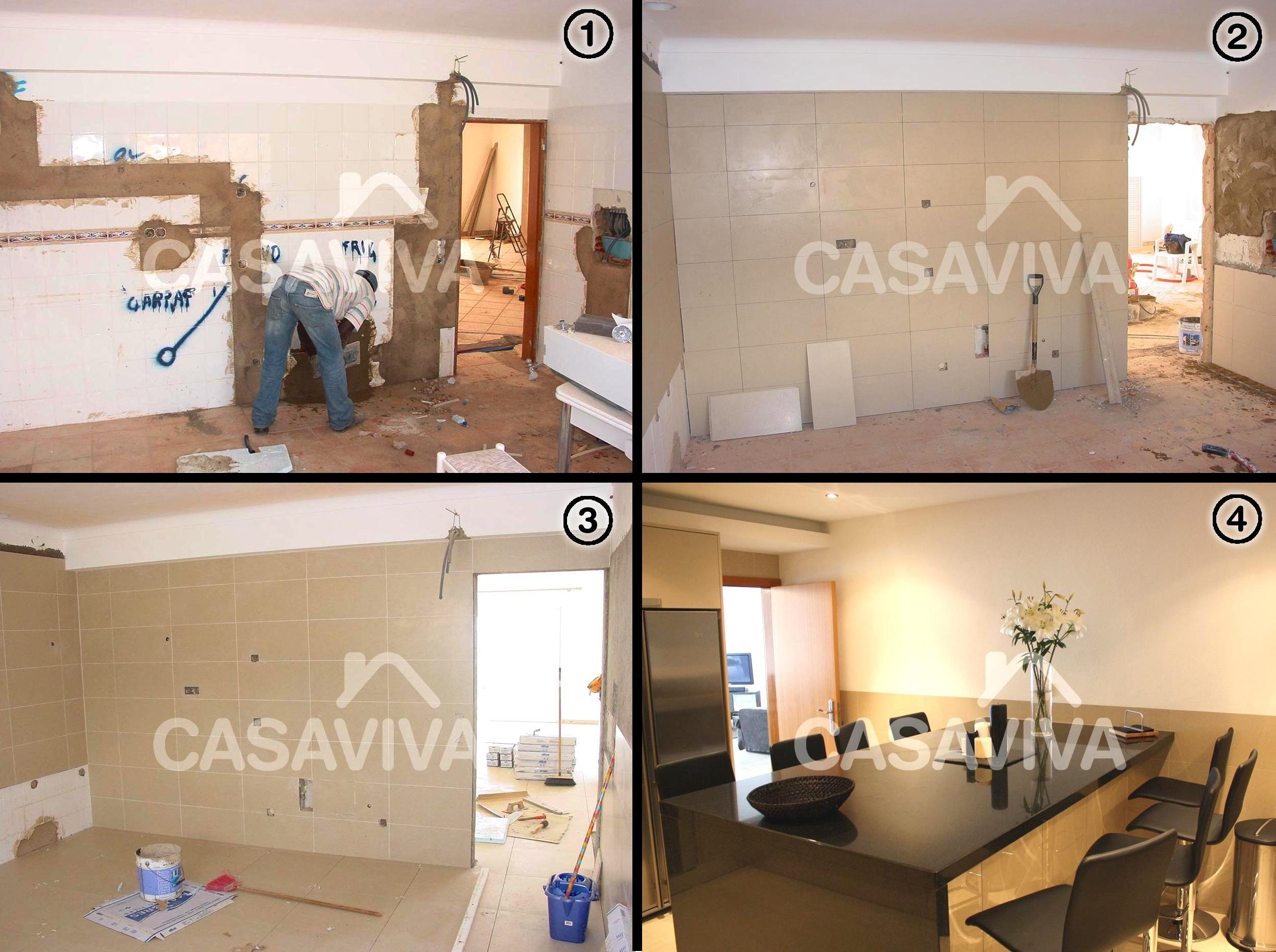 Antes e Depois Remodelação da Cozinha #956836 2500 1866