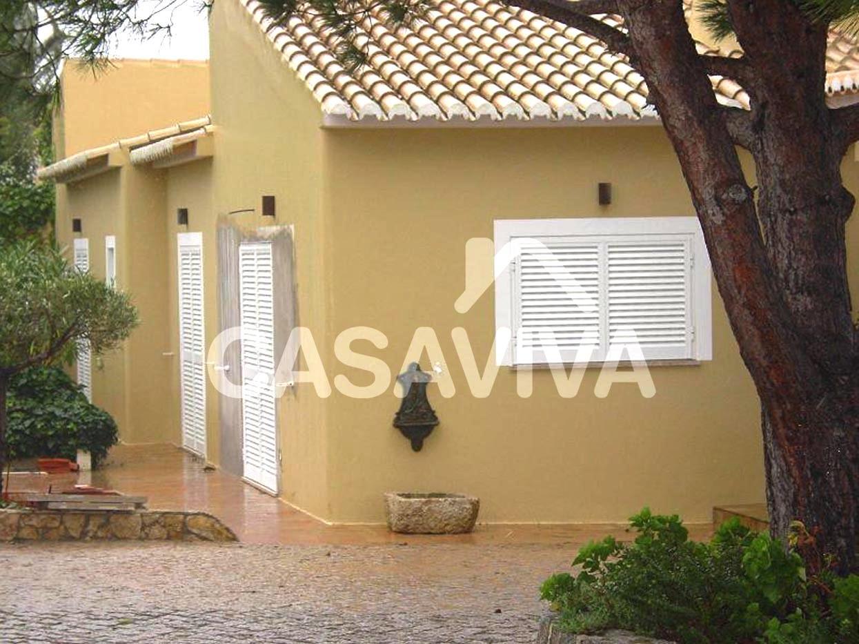 Portef lio moradias sintra casa viva obras - Revestir paredes exteriores ...