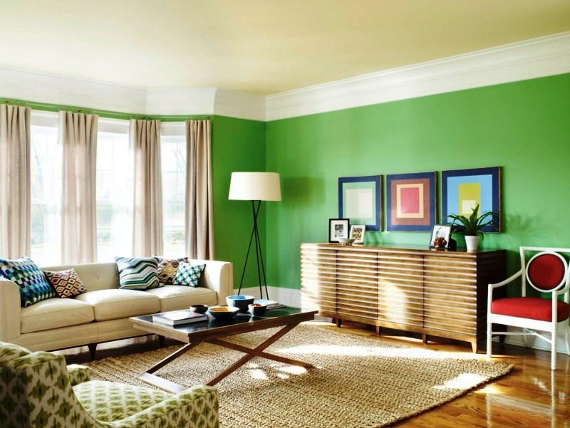 O verde acalma e relaxa mas em exagero pode causar monotonia.