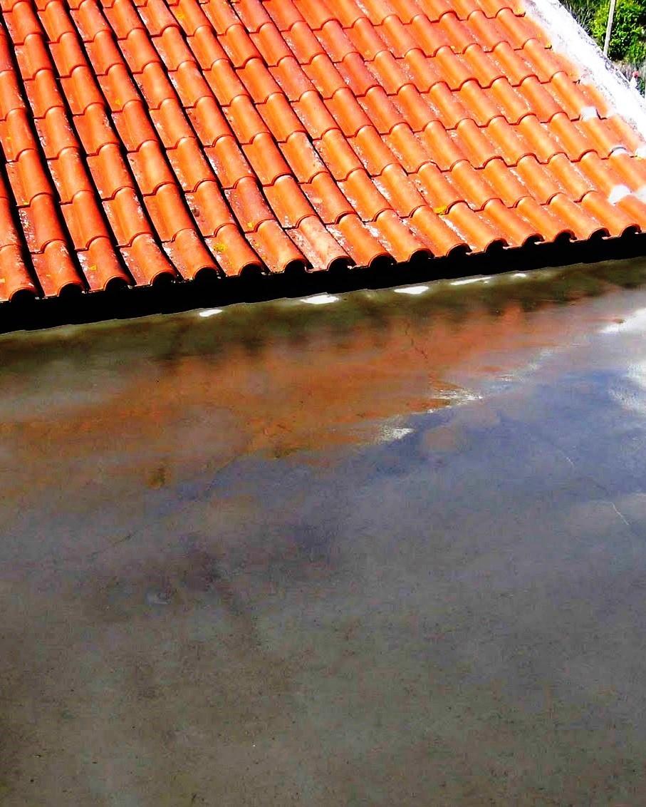 Os terraços são as coberturas que apresentam maiores exigências construtivas. Pelo facto de terem um grau de inclinação em termos de pendente muito menor que numa cobertura inclinada, podem-se desenvolver patologias devidas a acumulação de água em determinadas zonas do terraço.