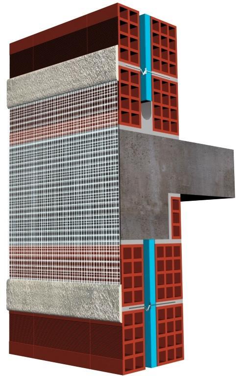 O isolamento térmico da envolvente do edifício é uma solução eficaz para resolver as pontes térmicas. No inverno, o fluxo de calor interno escapa através destes pontos provocando um arrefecimento das paredes internas e o risco de condensação da humidade relativa no interior da casa.