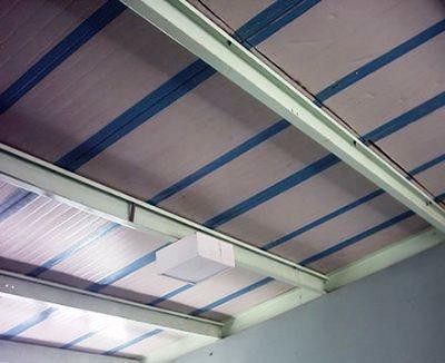 Os painéis flutuantes podem ter uma aparência agradável e com durabilidade elevada.