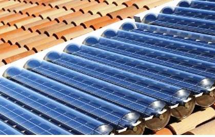 Os Painéis Solares Térmicos transformam a radiação solar em energia térmica.