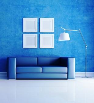O azul acalma mas em excesso pode tornar o ambiente frio e vazio. Descubra as cores que melhor se enquadram na sua casa.