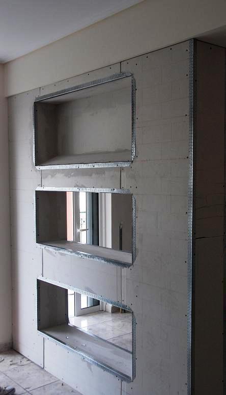 Pladur paredes e teto falso casa viva obras - Instalacion de pladur en paredes ...