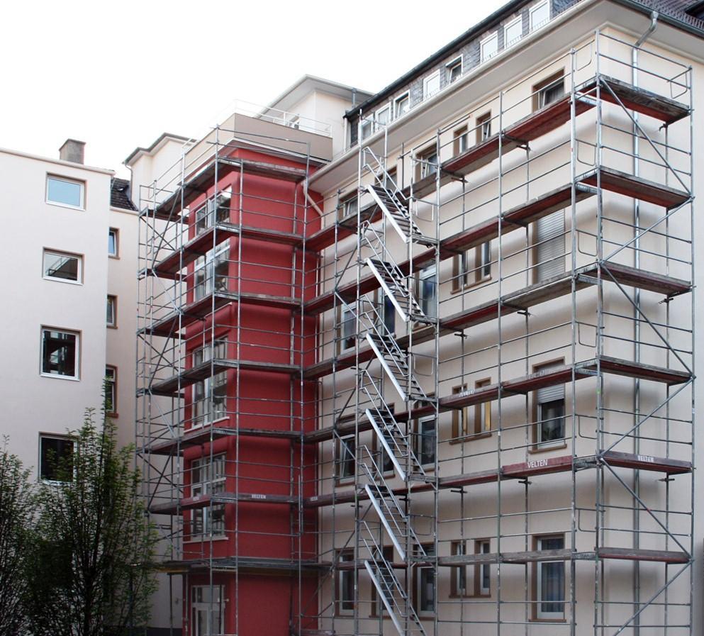 A CASA VIVA faz o levantamento das necessidades para a fachada do seu edifício e ajuda na escolha das melhores soluções (que tipo de tinta utilizar, que tipos de revestimento, recuperar as serralharias, execução de remates, etc).