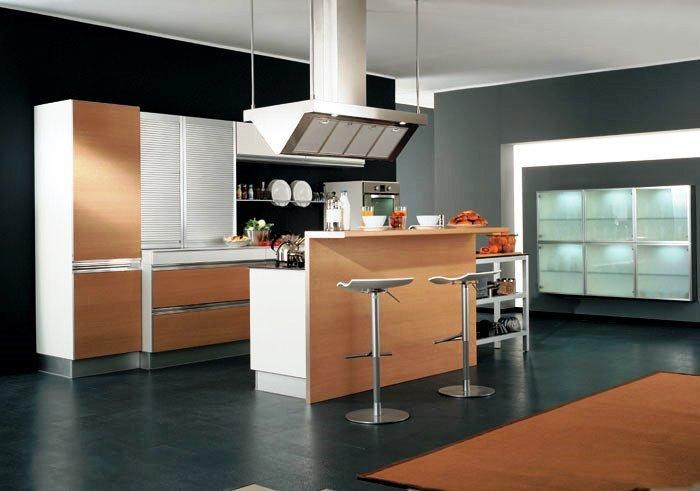 Cada cozinha pode ter uma organização de espaço única.