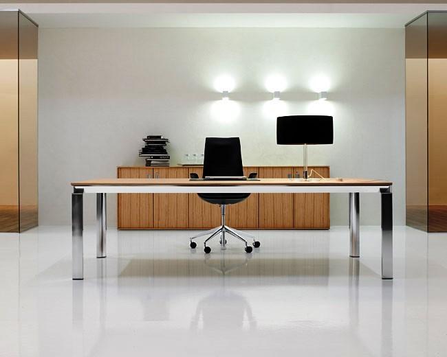 Cada escritório pode ter uma organização de espaço única.