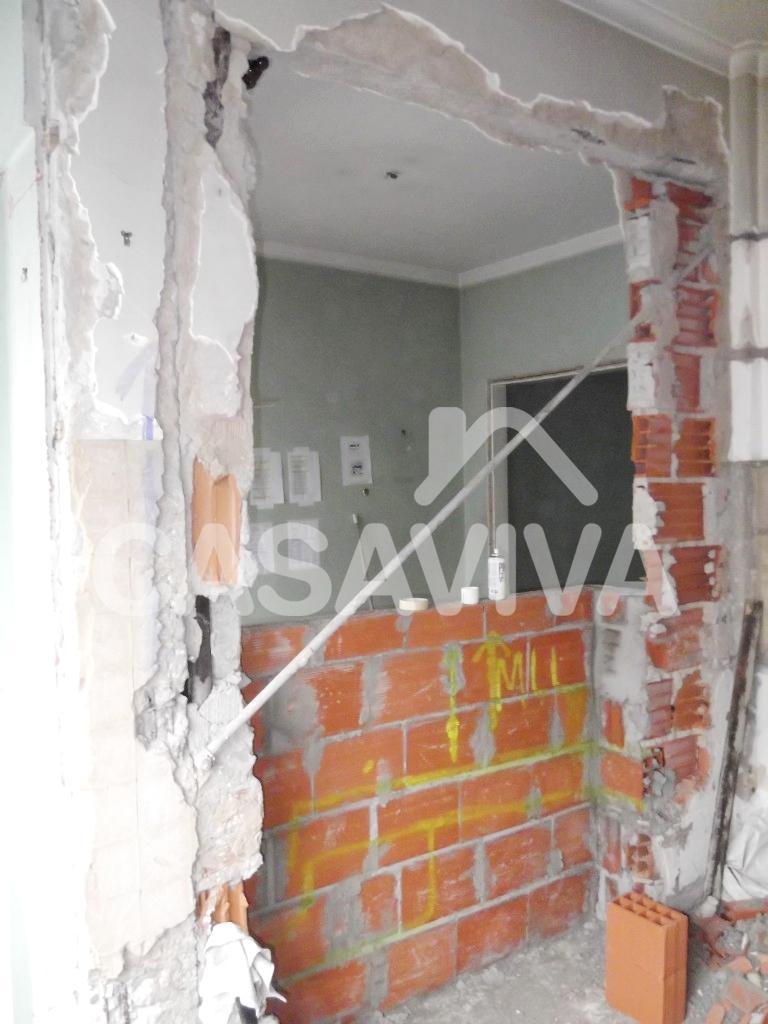 Portf Lio Remodela O Da Cozinha E Sala Bancada Remodela O De  ~ Bancada Divisoria Sala Cozinha