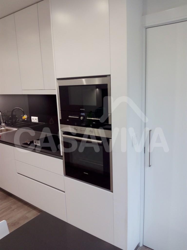 Micro Cozinha Cozinha Compacta Kappesberg Soft Com Balco Nicho