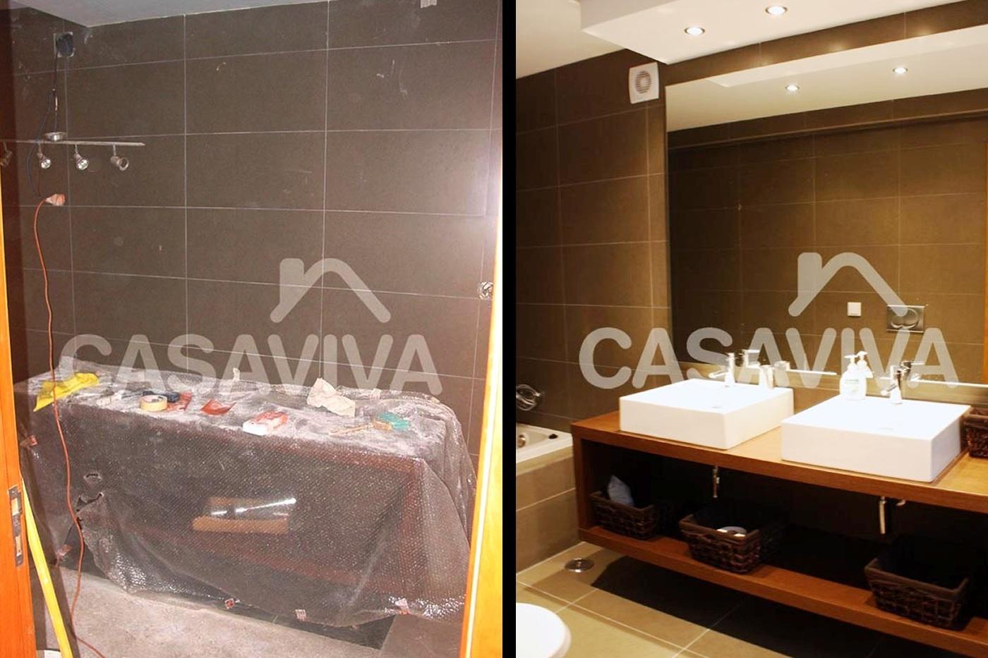 Portfólio Antes e Depois Casa de Banho Remodelação de Moradia  #C59006 1400 933
